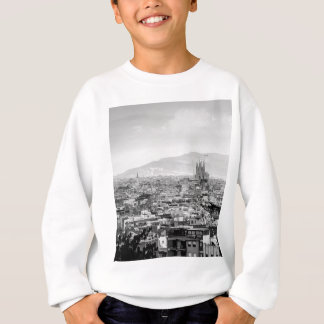 Black and White Barcelona Sweatshirt