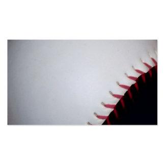 Black and White Baseball / Softball Pack Of Standard Business Cards