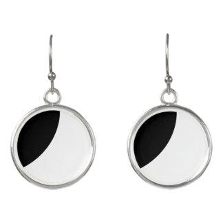 Black and White Beauty Earrings