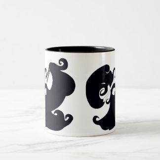 Black And White Belly Dancers Mug