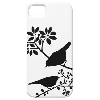 Black and White Birds Case For The iPhone 5