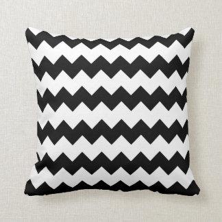 Black and White Block Chevron Pillow Throw Cushions