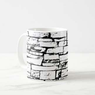 Black and White Brick Cup