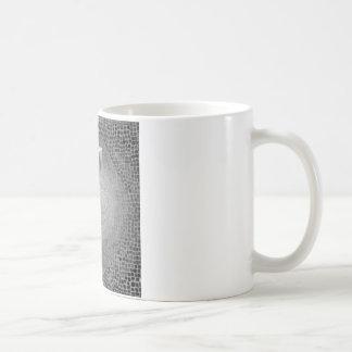Black and White Buddha Face Coffee Mug