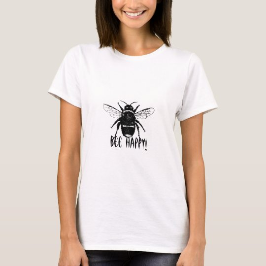 black and white bumble bee on all womens