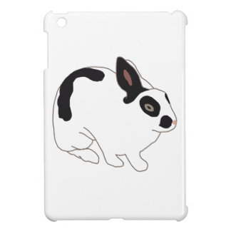 Black and White Bunny Rabbit iPad Mini Cases