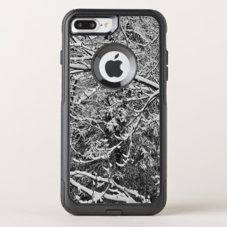 black and white Camouflauge i phone case