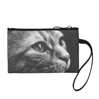 Black and White Cat Coin Purse