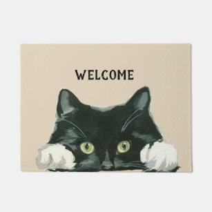 Cat Doormats Amp Welcome Mats Zazzle Co Uk