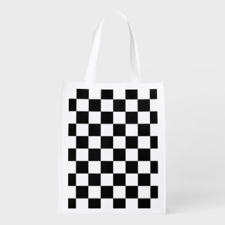 Black and White Check pattern
