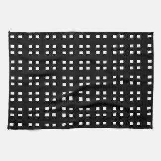 Black and White Checker Tea Towels