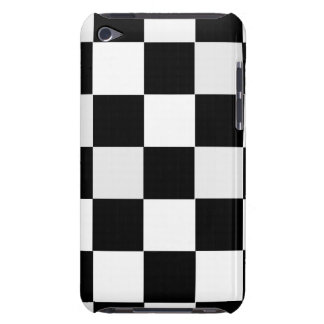Black and White Checkered iPod Touch Cases