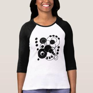 Black and White Circles T Shirts