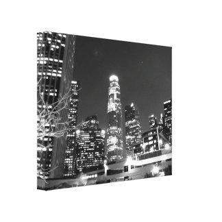 Black And White Cityscape 13 Canvas Prints