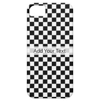 Black and White Classic Checkerboard by STaylor Case For The iPhone 5