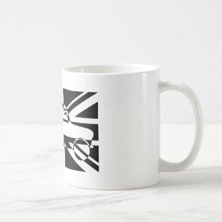 Black and White Classic Mini Union Flag Coffee Mug