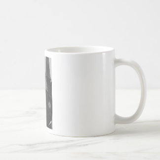 Black and White Clocktower Coffee Mug