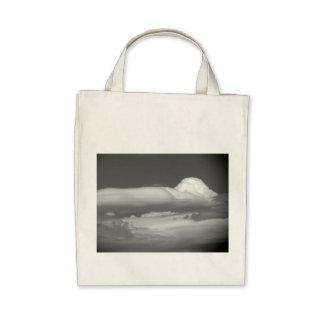 Black And White Cloud 3 Tote Bag