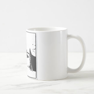 Black and White Cocker Spaniel Coffee Mug