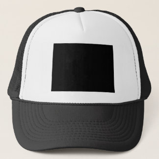 Black and White Colorado Trucker Hat