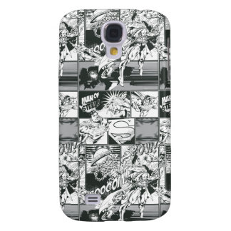 Black and White Comic Pattern Galaxy S4 Case