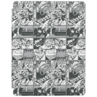 Black and White Comic Pattern iPad Cover