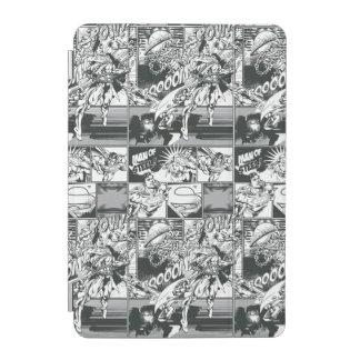 Black and White Comic Pattern iPad Mini Cover