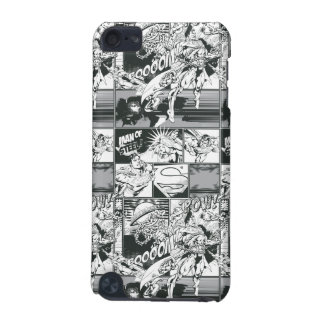 Black and White Comic Pattern iPod Touch 5G Case