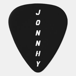 black and white cool plectrum
