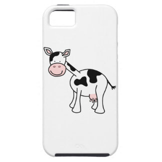 Black and White Cow Cartoon. iPhone 5 Cases
