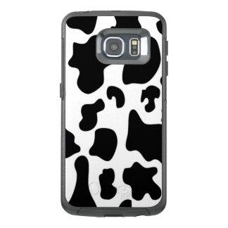 Black and White Cow OtterBox Samsung Galaxy S6 Edge Case