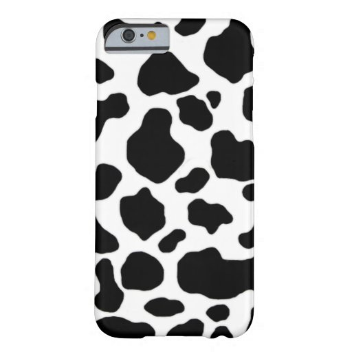 black and white cow pattern iPhone 6 case