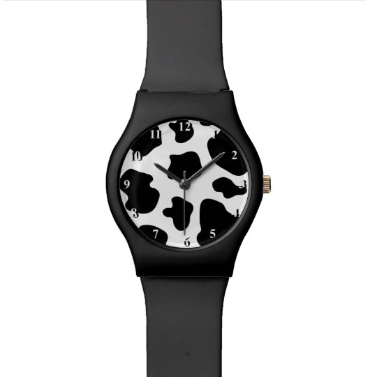 Black and white cow pattern   Cowhide print