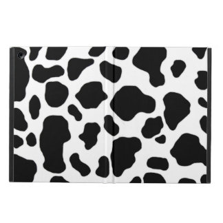 Black and white cow print iPad Air Case