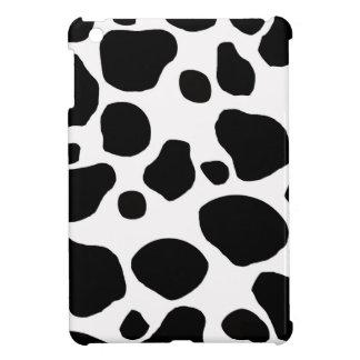 Black And White Cow Print iPad Mini Case