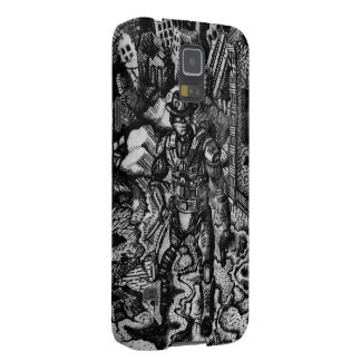 Black and white cowboy Samsung s5 Galaxy S5 Cover