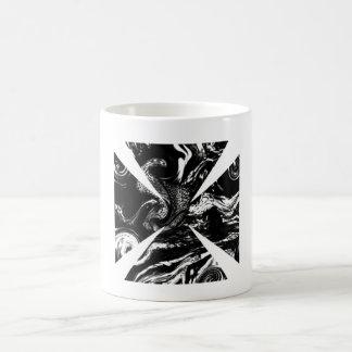 Black and White Cross Mugs
