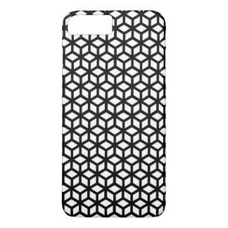 Black And White Cube Pattern iPhone 8 Plus/7 Plus Case