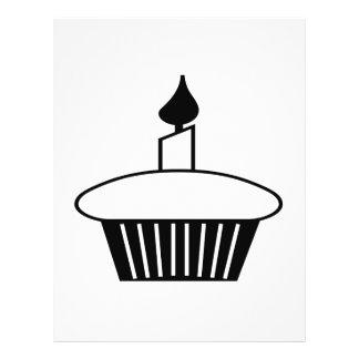 Black And White Cupcake 21.5 Cm X 28 Cm Flyer
