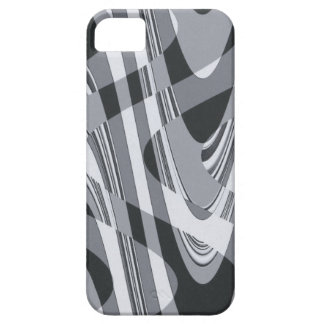 Black and White Curves iPhone 5 Covers