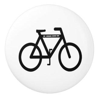 Black and White Cycling Ceramic Knob