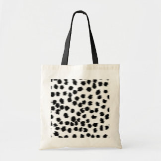 Black and White Dalmatian Print Pattern. Tote Bag