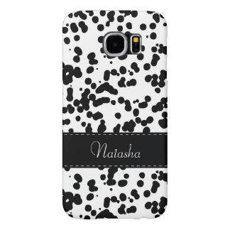 Black and White Dalmatian Spots