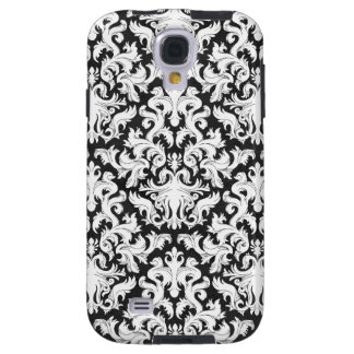 BLACK AND WHITE DESIGN GALAXY S4 CASE