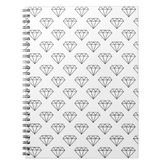 Black And White Diamonds Note Books