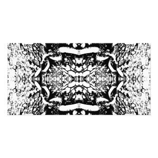 Black and White Digital Art. Photo Greeting Card