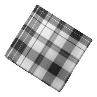 Black and White Do-rag