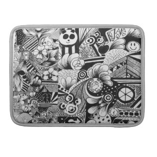 Black and White Doodle Case