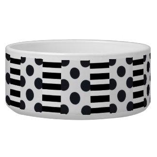 Black and White Dots/Stripes