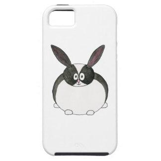 Black and White Dutch Rabbit. iPhone 5 Case